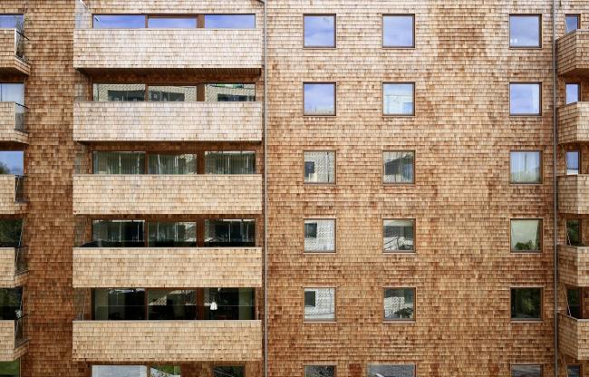 Корпус B жилого массива Strandparken, Стокгольм. Бюро Wingårdhs Arkitekter. Фото © Tord-Rickard Sîderstrîm
