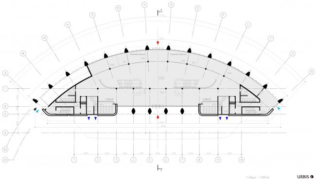 Многофункциональный центр торжественных мероприятий «Невский дворец бракосочетания». План 1 этажа © Urbis СПб.