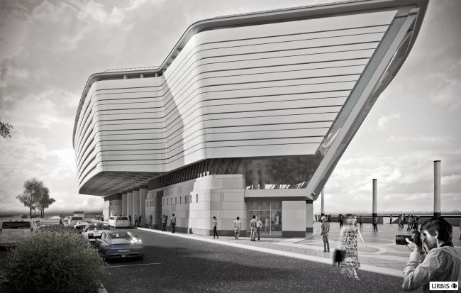 Многофункциональный центр торжественных мероприятий «Невский дворец бракосочетания». Фасад со стороны города © Urbis СПб.