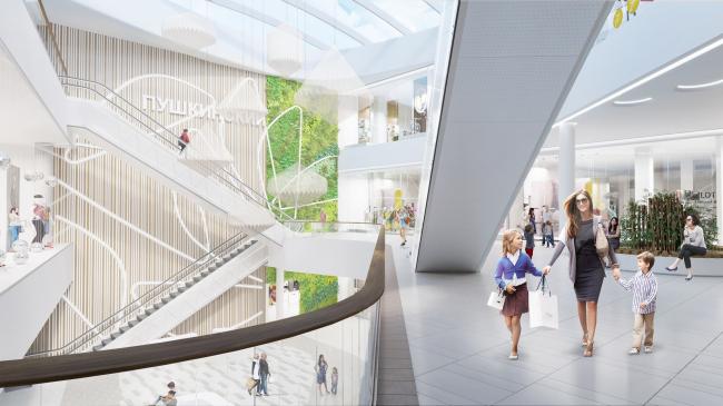 Торговый центр «Пушкинский» © Blank Architects