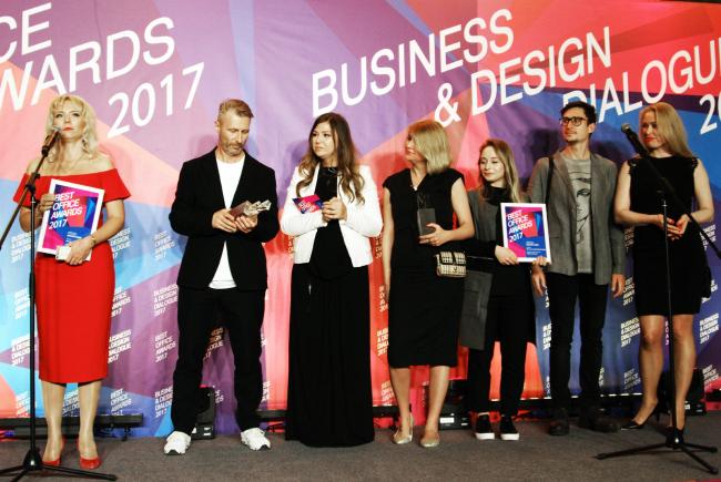 Церемония награждения победителей премии Best Office Awards. Архитектурная студия VOX architects. Фотография © Дмитрий Павликов