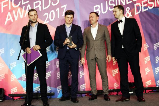 Церемония награждения победителей премии Best Office Awards. Архитектурное бюро John McAslan+Partners. Фотография © Дмитрий Павликов
