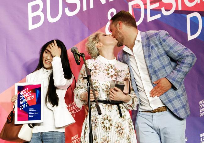 Церемония награждения победителей премии Best Office Awards. Архитектурное бюро Адетэйл. Фотография © Дмитрий Павликов