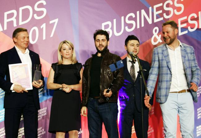 Церемония награждения победителей премии Best Office Awards. Фотография © Дмитрий Павликов