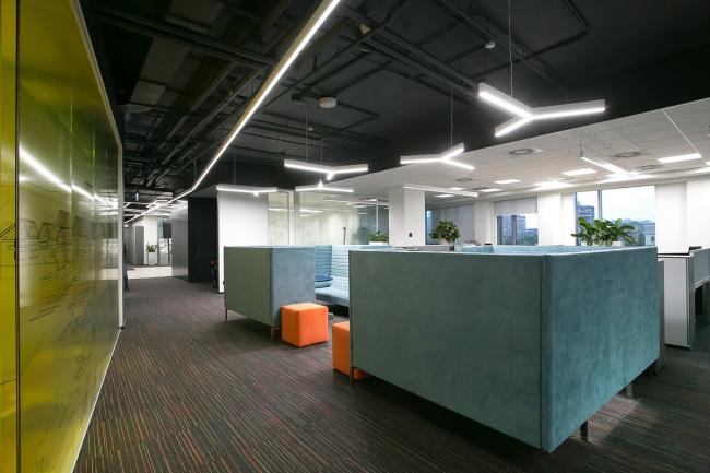 Офис компании АBB © Архитектурное бюро MAD Architects