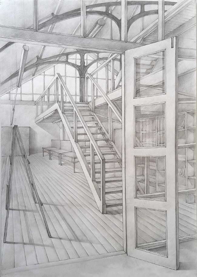 Работа Кафановой Таисии, 1-й курс. МАРХИ, 2017