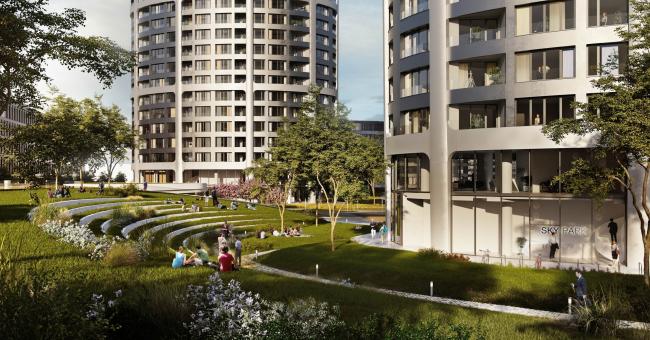 Комплекс Sky Park © Penta_Investments