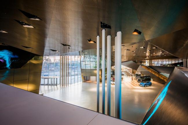 Шоу-рум Hyundai MotorStudio в Кояне © Raphael Olivier