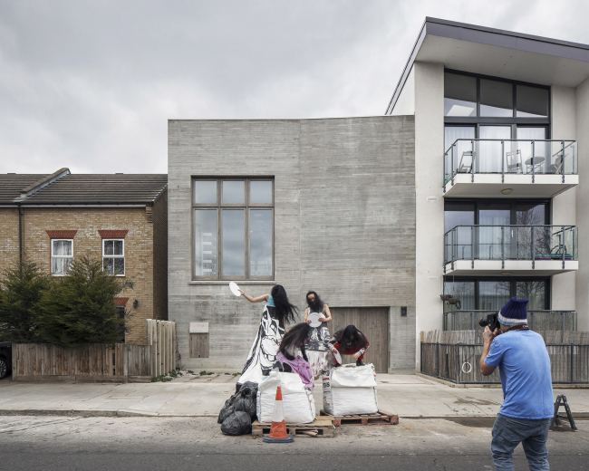 Фотостудия Юргена Теллера, Лондон. 6a architects. Фото © Johan Dehlin