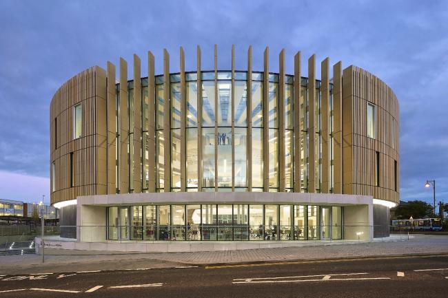Национальный центр британской письменности The Word, Саут-Шилдс. FaulknerBrowns Architects. Фото © Al Crow