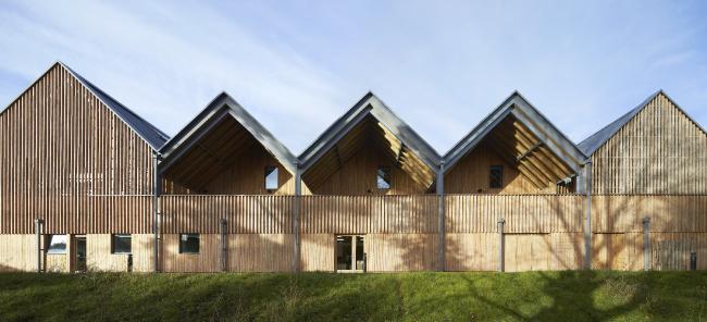 Школа искусства и дизайна Bedales, Гэмпшир.Feilden Clegg Bradley Studios. Фото © Hufton and Crow