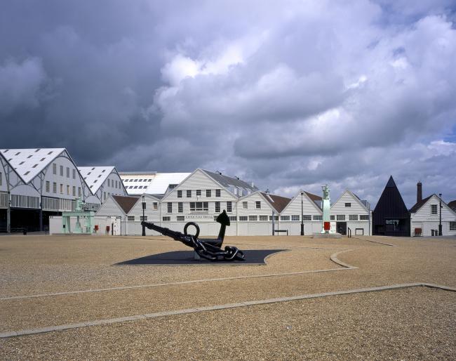 Музей Command of the Oceans, Кент. Baynes & Mitchell Architects. Фото © Hélène Binet
