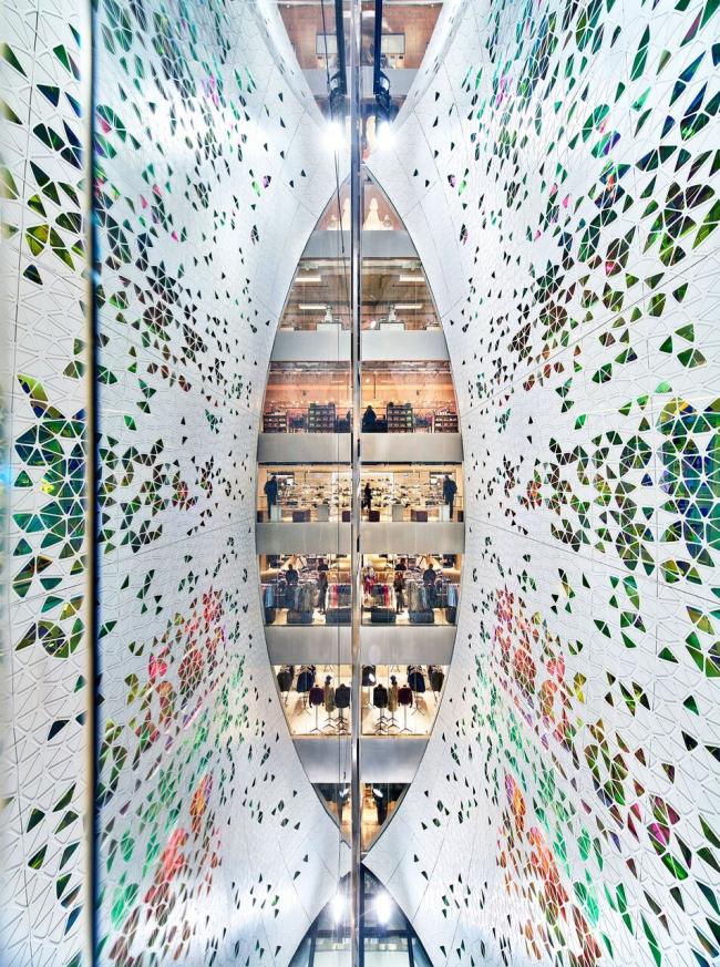 Реконструкция торгового центра Printemps © UUfie