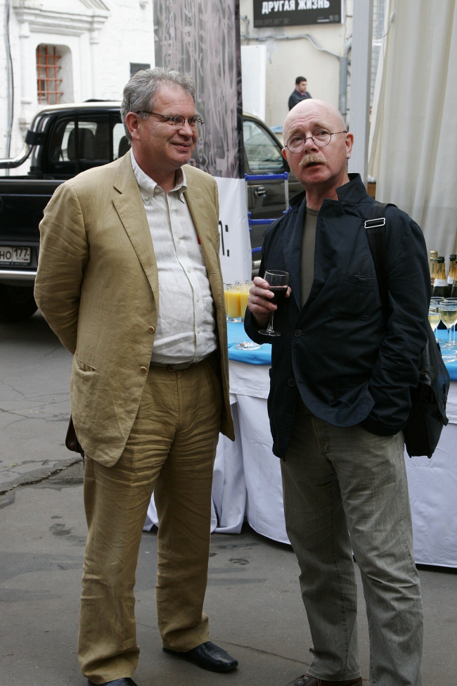 Алексей Бавыкин и Евгений Асс