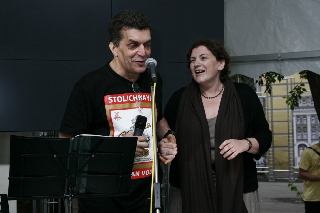 Давид Сакрисян и Ирина Шипова