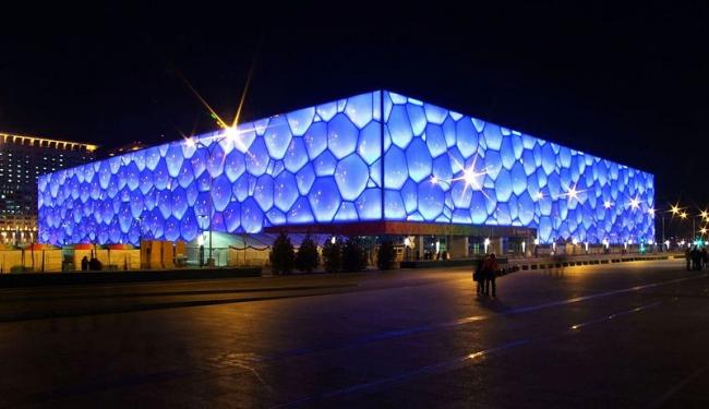 Национальный центр водных видов спорта. Фото: Charlie fong via Wikimedia Commons. Фото находится в общем доступе