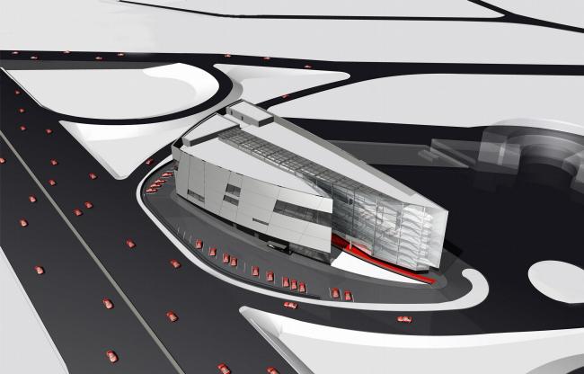 Комплекс с сервисным обслуживанием автомобилей © ТПО «Резерв»