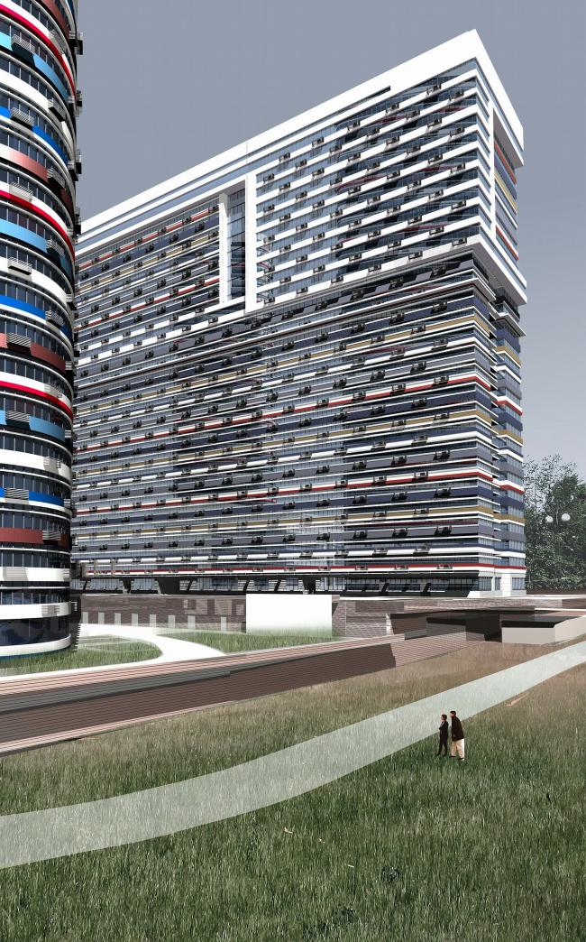 Жилой комплекс «Триколор» © ТПО «Резерв»