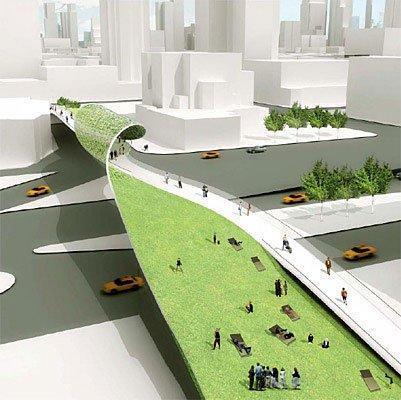 Дизайн бульваров