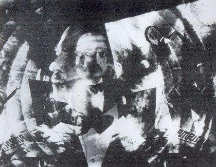 Тато. Футуристический портрет Маринетти. Ок.1930