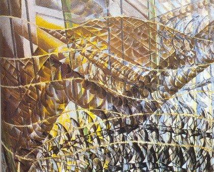 Джакомо Балла. Полет ласточек. 1913