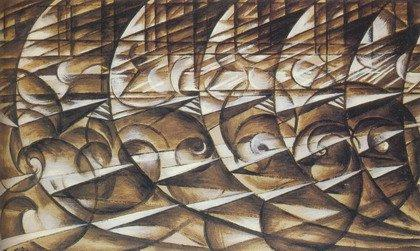 Джакомо Балла.Скорость автомобиля. 1913