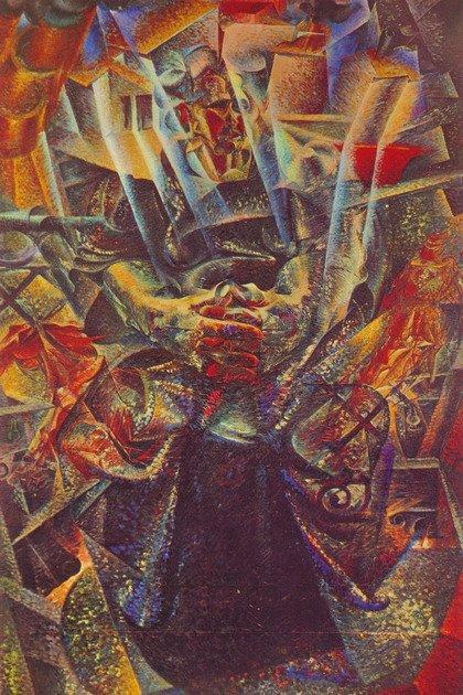 Умберто Боччони. Материя. 1912