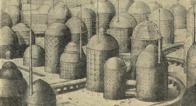 Архитектор Мараини. Город будущего. 1920-е гг.