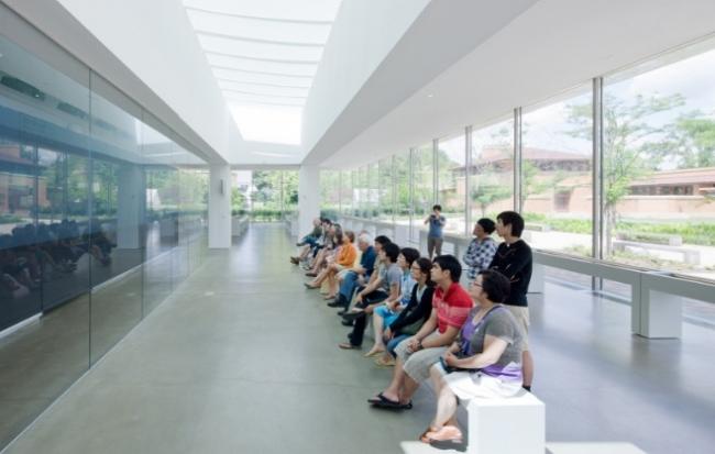 Посетительский центр Дома Мартина © Toshiko Mori Architect