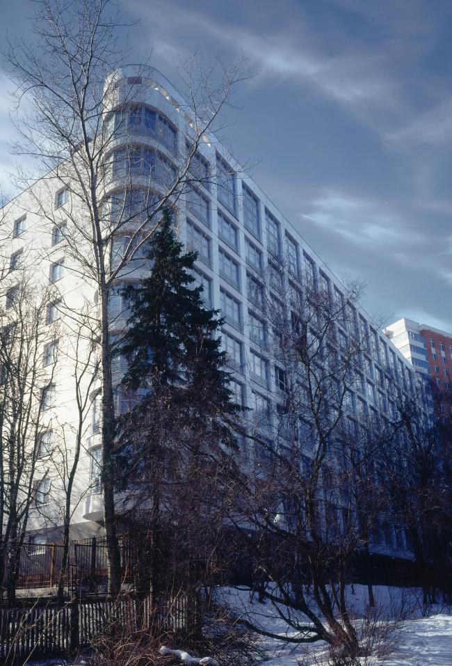 Девятиэтажный жилой дом с подземным гаражом на ул. М. Филевская © ТПО «Резерв»