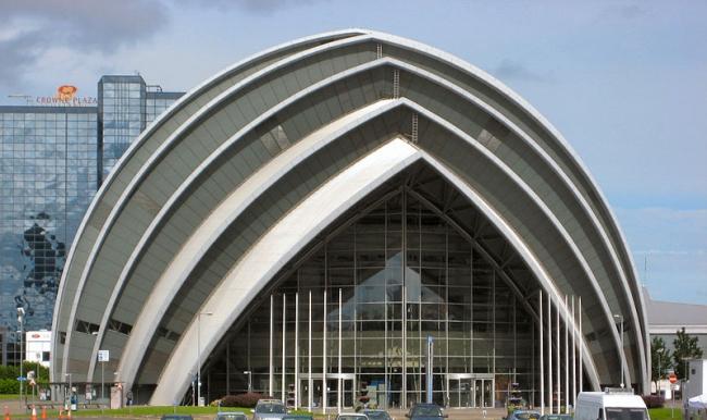 Конференц-центр «Аудитория Клайд». Фото: J. Miers via Wikimedia Commons. Лицензия  CC-BY-SA-4.0,3.0,2.5,2.0,1.0