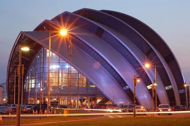 Конференц-центр «Аудитория Клайд». Фото: Ross Goodman via Wikimedia Commons. Лицензия CC-BY-2.0