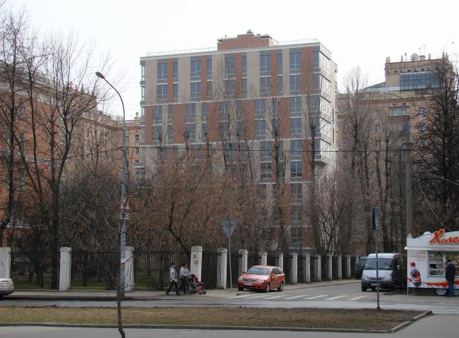 Стрельбу в жилом доме на 3-й Фрунзенской улице в Москве
