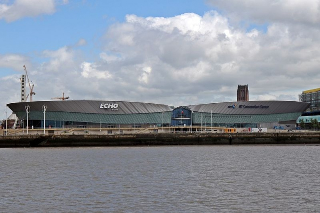 Арена и конгресс-центр. Фото: El Pollock via Geograph. Лицензия CC BY-SA 2.0