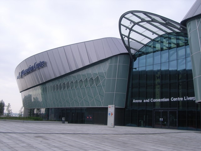 Арена и конгресс-центр. Фото: Nicholas Mutton  via Geograph. Лицензия CC BY-SA 2.0