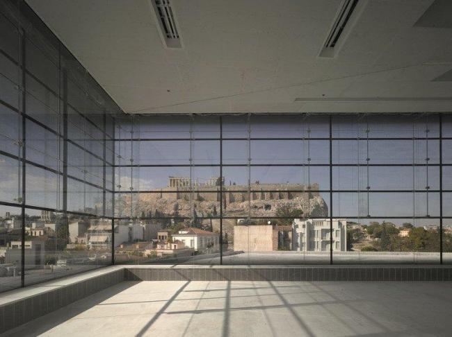 Музей Акрополя. Музей Акрополя. «Галерея Парфенона»  © Christian Richters