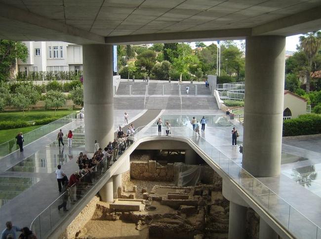 Музей Акрополя. Фото: Tomisti via Wikimedia Commons. Лицензия CC-BY-SA-3.0