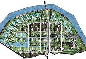 Конкурсный проект «Зеленые просторы». Коттеджный поселок. Жуковка © ТПО «Резерв»