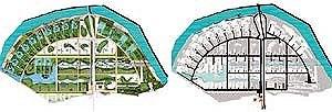 Коттеджный поселок «Зеленые просторы». Жуковка.  Схема благоустройства и пешеходных связей Схема транспортного обслуживания