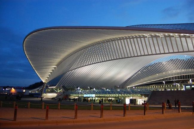 Вокзал льеж гийемен в бельгии