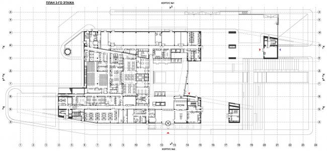План на уровне 1 этажа