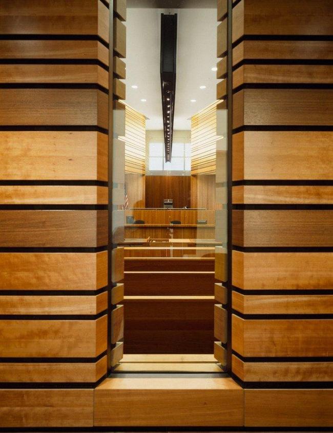 Комплекс Федерального суда имени Уэйна Морса. Фото © Roland Halbe