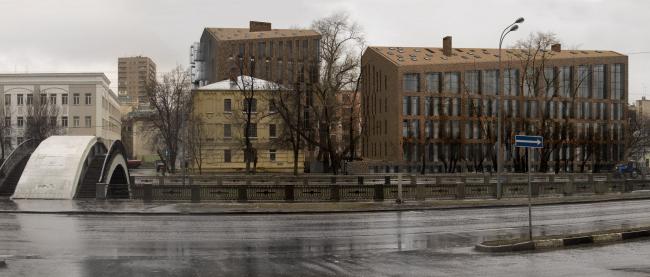 Жилой Комплекс «Арт хаус». Проект © Сергей Скуратов ARCHITECTS