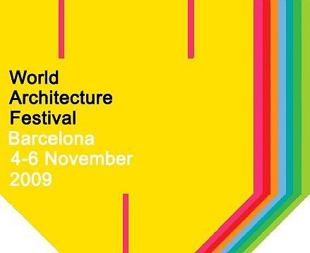 Логотип Всемирного архитектурного фестиваля в Барселоне WAF 2009