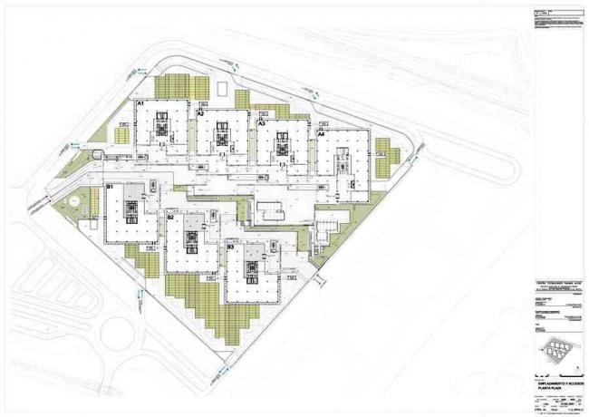 Комплекс Campus Palmas Altas – штаб-квартира компании Abengoa ©  RSHP – Rogers Stirk Harbour + Partners