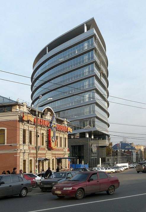 Центр Международной Торговли в Нижнем Новгороде. НПО «Архстрой»