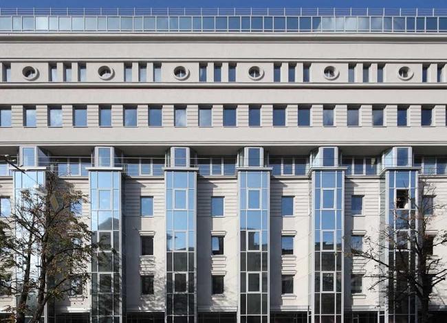 «Ордер-Хаус». Жилой дом с офисными и торговыми помещениями по улице Минина. НПО «Архстрой»
