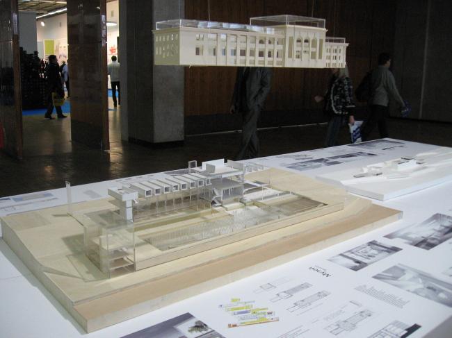 Реконструкция Речного вокзала в Перми. Проект Меганом.
