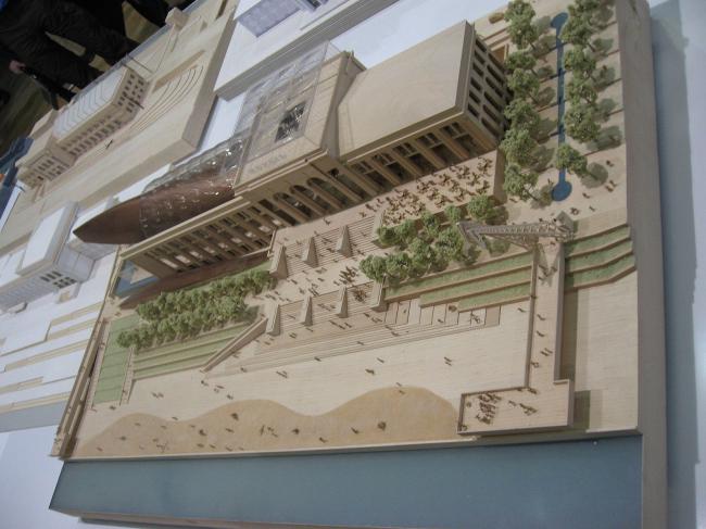 Реконструкция Речного вокзала в Перми. Проект архитектурного бюро KPF