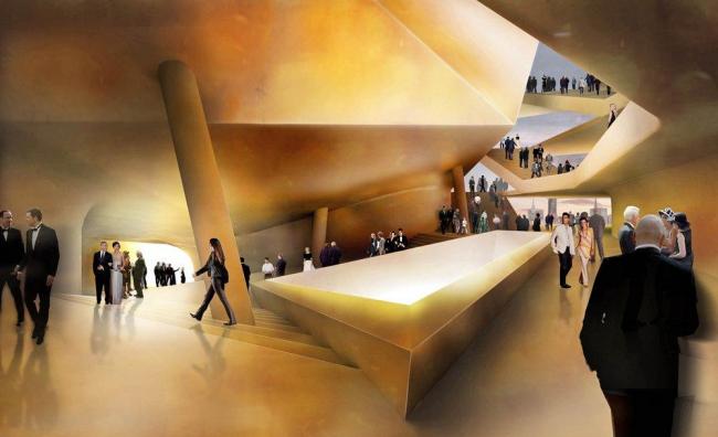 Концертный зал Elbphilarmonie © Herzog & de Meuron